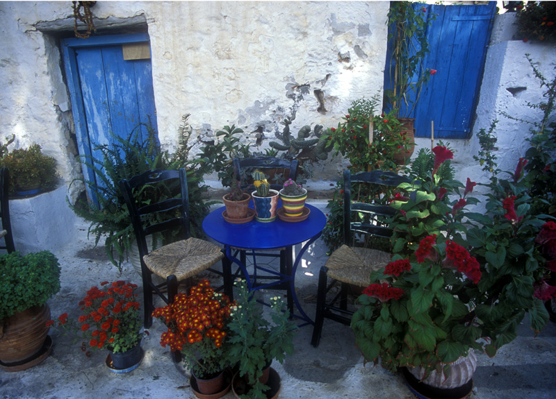 Village Cafe Garden, Island of Aegina